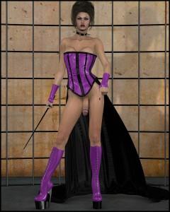 nasty 3d futanari mistress