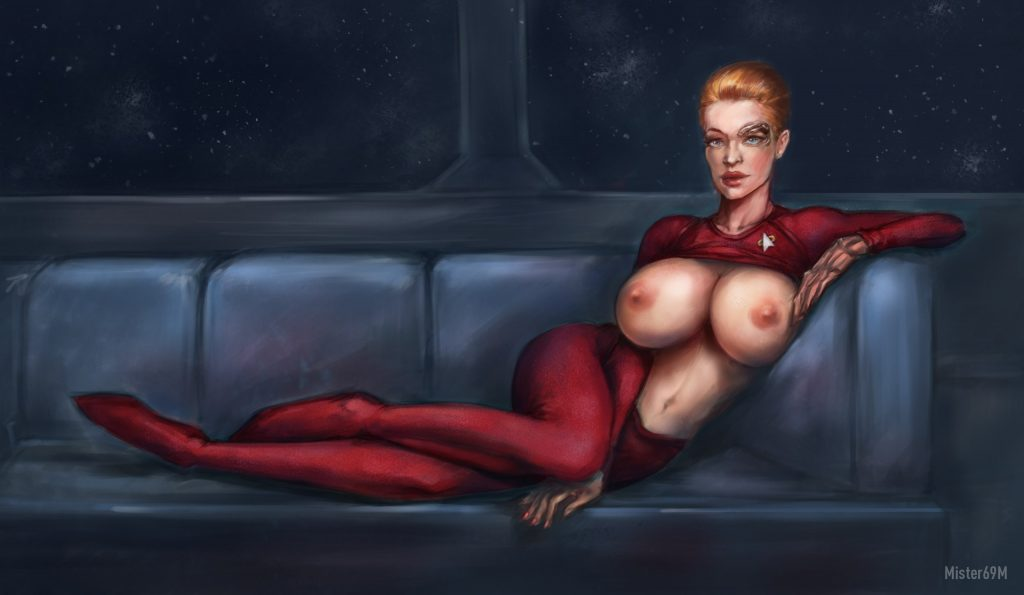 seven of nine futanari